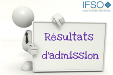 Résultats admission Concours AS 2018 IFSO Angers