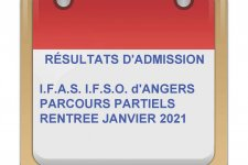 RESULTATS SELECTION D'AUTOMNE IFAS IFSO ANGERS